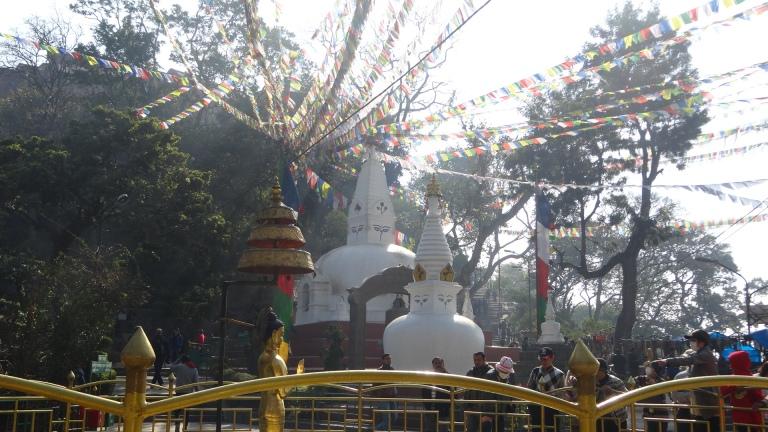 Monkey Temple.