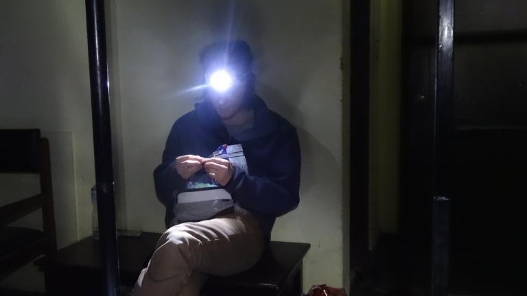 Życie bez prądu.